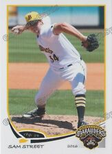 2016 Bradenton Marauders Sam Street RC Rookie Pittsburgh Pirates AUS