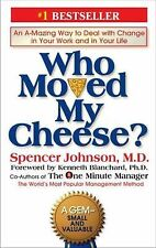 Who Moved My Cheese?, by Spencer Johnson, New hardcover book
