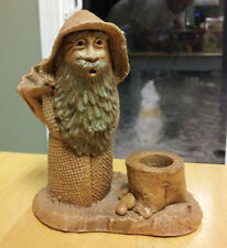 """LORD OF THE RINGS GANDALF  FIGURE - Pipe Ashtray? Ceramic 6"""" tall 5"""" wide"""