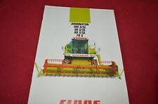 Claas Dominator 108 98 88 S/SL 78 S Combine Dealers Brochure 189.006.9 LCOH