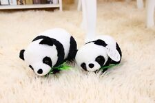 Lovely Mini Lying prone Panda Stuffed Animals soft toys plush doll 11CM new