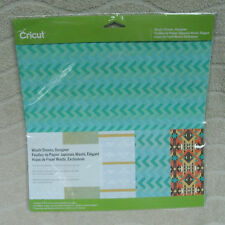 "Cricut Washi Sheets, Designer (5)- 12"" x 12"" Sheets ~ NEW"