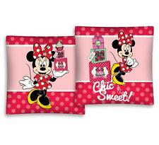 NEW LICENSED Disney MINNIE Mouse CHIC & SWEET cushion cover 40x40cm 100% COTTON