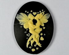 FAIRY IN LOVE CAMEO  Silicone Mould Cupcake chocolate polymer clay Sugarcraft