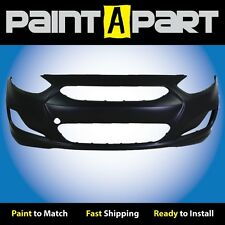 Fits: 2012 2013 2014 Hyundai Accent HB Front Bumper Cover (HY1000188) Painted