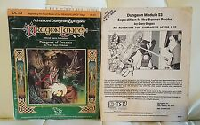 Advanced Dungeons and Dragons Module S3 Expedition to the Barrier Peaks +bonus