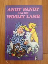 ANDY PANDY AND THE WOOLY LAMB CHILDRENS BOOK HARDCOVER