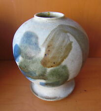 Listed Early Signed Michael Cohen Studio Pottery Vase Grotell Cranbrook
