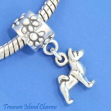 AKITA DOG BREED SPITZ .925 Solid Sterling Silver EUROPEAN EURO Dangle Bead Charm
