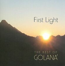 FREE US SH (int'l sh=$0-$3) ~LikeNew CD Golana: First Light: Best of Golana