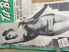 q2-1 ephemera 1950s picture mari blanchard actress model