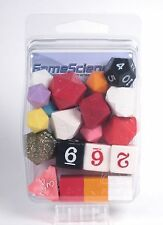 """Gamescience """"Oddities"""" 20pc Lot Polyhedral Dice Set D&D RPG NEW! Zocchi d20 New!"""