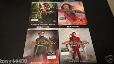 The Hunger Games Collection 4K Blu-ray