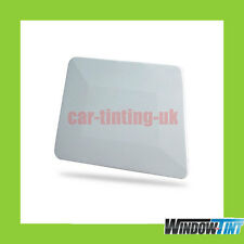 WHITE TEFLON HARD CARD SQUEEGEE CAR WINDOW TINT TOOL