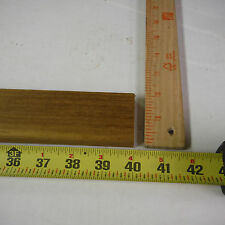 """48 inch long x 1 1/2 wide x 7/16"""" thick teak wood planed & sanded 100% heartwood"""