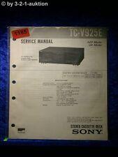 Sony Service Manual TA V925E Amplifier  (#1185)