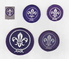 WORLDWIDE BOY SCOUTS & GIRL GUIDES Membership Rank Award Scout Patch (Lot A)