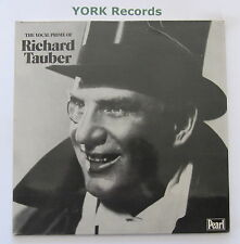 RICHARD TAUBER - The Vocal Prime Of ... - Ex Double LP Record Pearl GEMM 153/4