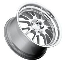 18X9.5 +30 Klutch SL14 5x114.3 Silver Wheels Fits Lexus Is250 Is350 Gs300 Gs350