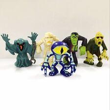 "5pcs Scooby Doo Crew Mystery Mates Mummy Zombie Monster 2.5"" Figure Baby Boy Toy"
