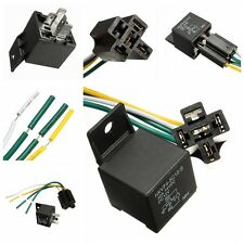 Car Auto DC 12V Volt 30/40A Automotive 4 Pin 4 Wire Relay&Socket 30amp/40amp SPS