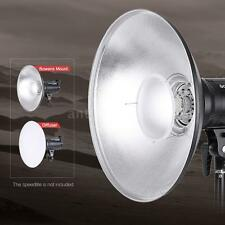 "16""Beauty Dish Reflector Diffuser Strobe Flash Speedlite Video Light BowensMount"