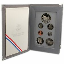 1991 United States US Mint Prestige Proof Set 90% Silver with Original Box & COA