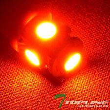 2 Amber/Orange T10 Wedge Base 5 5050 SMD LED Parking/Turn Signal/Tail Light Bulb