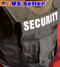 Police Tactical Body Armor Bullet Proof / Stab Proof Vest 3A SIZE Medium NEW!!!
