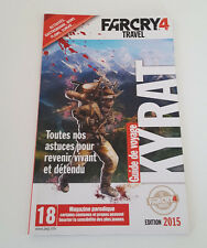 Mini Artbook - Far Cry 4 IV Travel - Guide de voyage - 34 pages Collector - Neuf