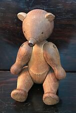 Mid Century Antique old Vintage Kay Bojesen Wooden Open arm jointed Teddy  bear