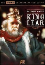 King Lear (DVD, 2005) - Thames Shakespeare Collection - Patrick Magee - New