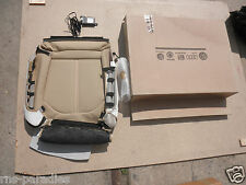 AUDI A6 A7 SEAT COVER LEATHER VELVET BEIGE OCCUPANCY RECOGNITION 4G8898522AA BK4