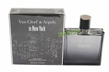 Van Cleef In New York By Van Cleef & Arpels 4.2 oz/125ml Edt Spray Men New  Box