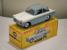 "Dinky No: 189 ""Triumph Herald"" - White/Light Blue (Boxed)"