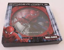 Marvel The Ultimate Spider-Man Kids Boys Red Wall Clock Size 10 in. NWT