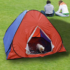 Big Camping Hiking Outdoor Pop Up Instant Color Tent / Large Kids Pets Playhouse