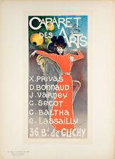 Maitres de L'Affiche Plate 234 - Cabaret Des Arts - Charles Luca Original Poster
