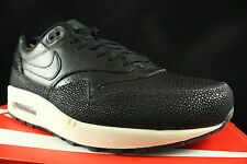 NIKE AIR MAX 1 LEATHER PA STINGRAY BLACK SEA GLASS 705007 001 SZ 8.5