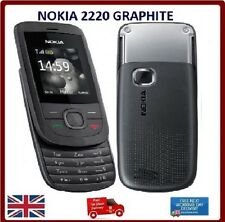 Brand New Nokia 2220 Slide Graphite Camera Mobile Phone SIM Free Complete in Box