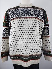 Vtg Nordstrikk Mens Nordic Icelandic Winter Jumper Sweater Size XL