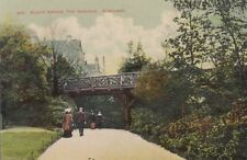 BOSCOMBE(Dorset): Rustic Bridge,The Gardens