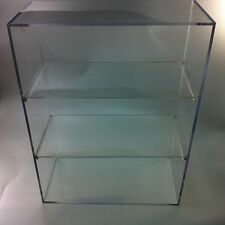 """Acrylic Display Case 12"""" wide x 8"""" deep x 16"""" high Made with 3/16"""" non-glare"""
