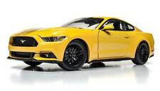 AUTO WORLD  MUSCLE CARS USA 2016 FORD MUSTANG GT YELLOW 1/18 DIECAST CAR AW229
