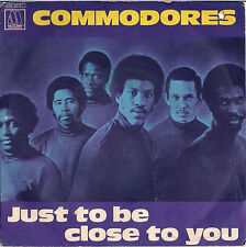 DISCO 45 giri  Commodores – Just To Be Close To You / Thumpin' Music