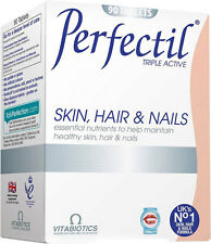 Vitabiotics Perfectil Triple Active Skin, Hair & Nails Tablets (90)