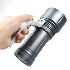 3-mode Cree T6 LED 8000 LM Rechargeable Zoom Tactical Flashlight Torch E688