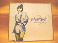 MAXI Single CD KRISTINE W One More Try 7TR 1996 house