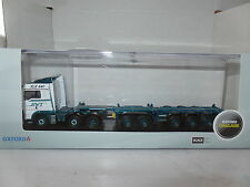 Oxford 76MAN03CT MAN03CT 1/76 OO NWT Containers MAN TGX D TEC Combitrailer