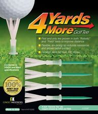 4 Yards More Golf Tees  Extreme Green 4 Inches Length